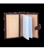 Обложка на автодокументы + паспорт 596.091.03 Burgundy