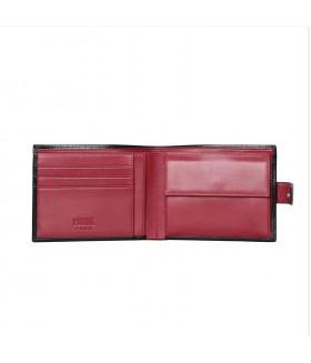 Портмоне мужское 102.041.A31 Black-Red
