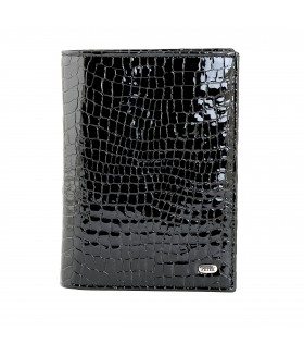 Обложка на паспорт + портмоне 597.091.01 Black