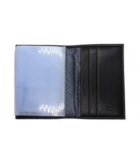 Обложка на автодокументы + паспорт 502.000.KD1 Black