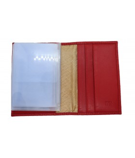 Обложка на автодокументы + паспорт 502.020.10 Red