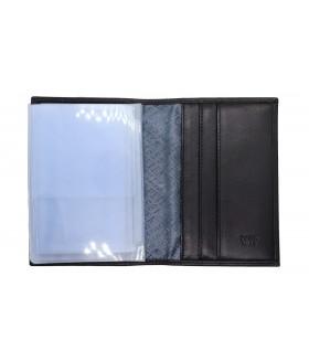 Обложка на автодокументы + паспорт 502.000.01 Black