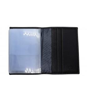 Обложка на автодокументы + паспорт 502.46D.KD1 Black