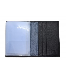 Обложка на автодокументы + паспорт 502.46D.01 Black