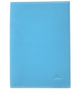 Обложка на паспорт 500.11.07 Turquoise / Blue