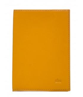 Обложка на паспорт 500.11.09 Yellow ( mandarin )
