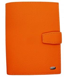 Обложка на автодокументы + паспорт 596.234.89 Orange Popsicle