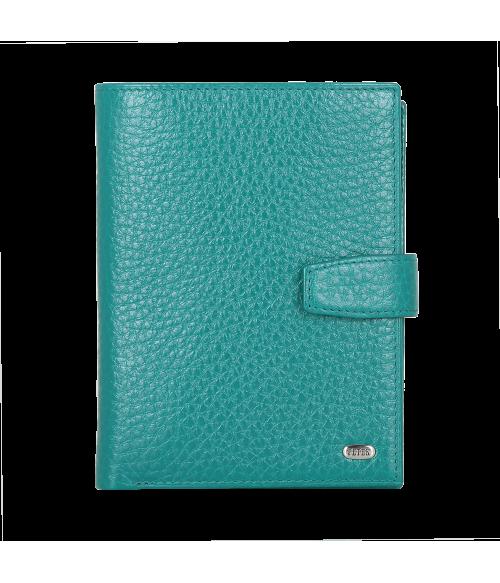 Обложка на автодокументы + паспорт 596.46B.32 Turquoise