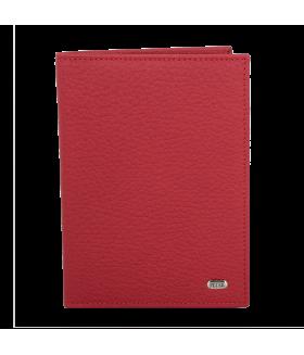 Обложка на паспорт 652.46D.10  Red