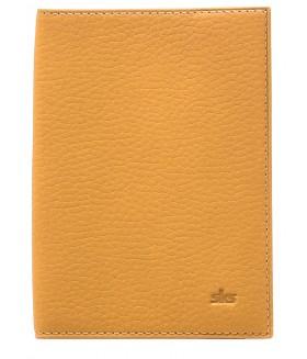 Обложка на паспорт 500.55.09 Yellow ( mandarin )