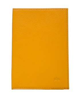 Обложка на паспорт 500.66.09 Yellow ( mandarin )