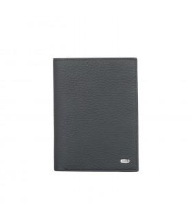 Обложка на паспорт + портмоне 597.234.01 Black